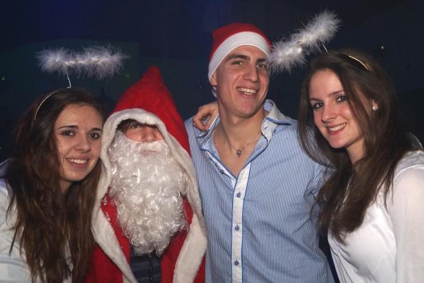 Die Weihnachtsshaker-Fotos