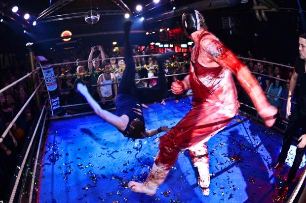 Die Wrestler kommen