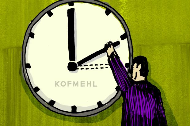 Ab sofort: 03:00 Uhr