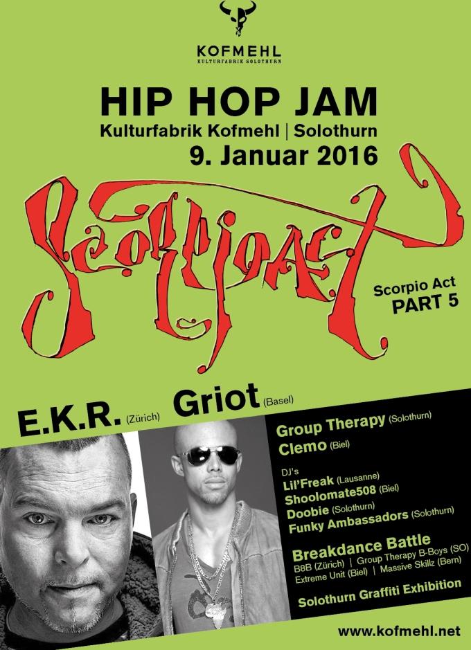 Scorpio Act Hip Hop Jam