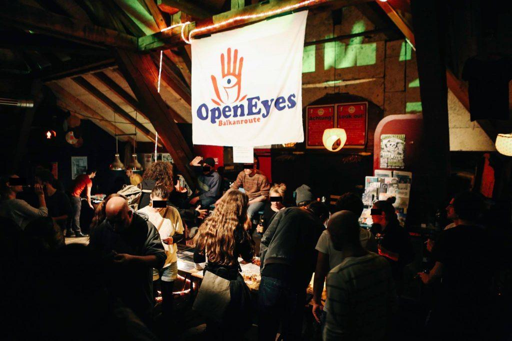 Spendenaktion für Flüchtlinge auf der Balkanroute