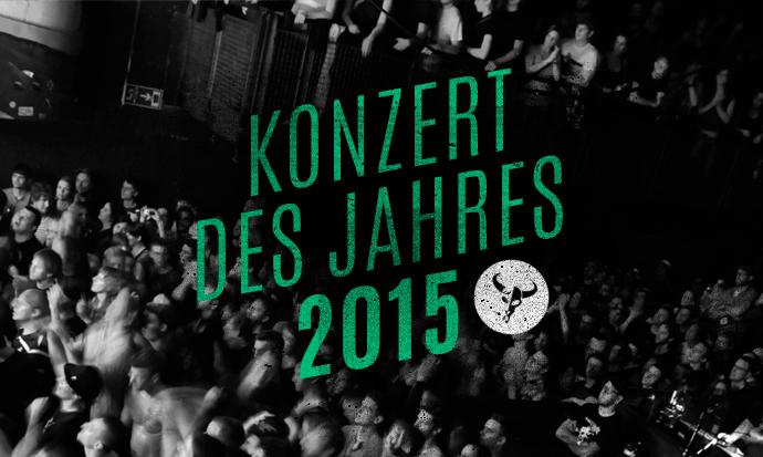 Konzert des Jahres 2015