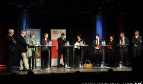 Podium-Regierungsratwahlen 1