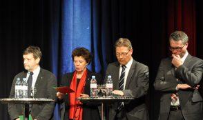 Podium-Regierungsratwahlen 4
