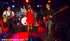 Johnny Fontane & The Rivals feat. Justina lee Brown @ blueMonday 17