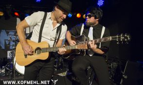 Johnny Fontane & The Rivals feat. Justina lee Brown @ blueMonday 21