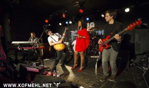 Johnny Fontane & The Rivals feat. Justina lee Brown @ blueMonday 25