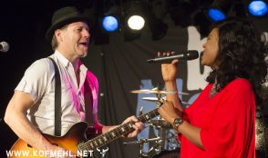 Johnny Fontane & The Rivals feat. Justina lee Brown @ blueMonday 28