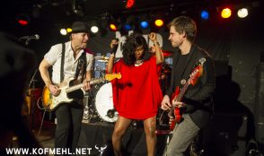 Johnny Fontane & The Rivals feat. Justina lee Brown @ blueMonday 32