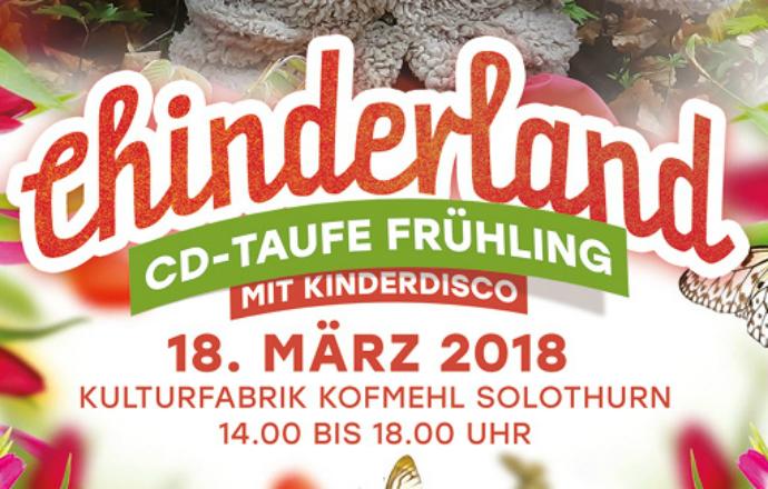 Chinderland CD Taufe