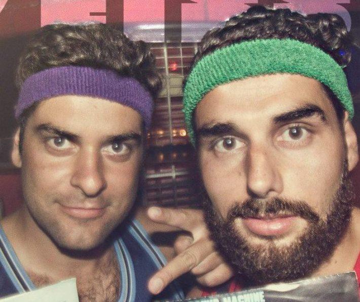 """""""Os Grezzos"""" DJs Airobic & Schweissband"""