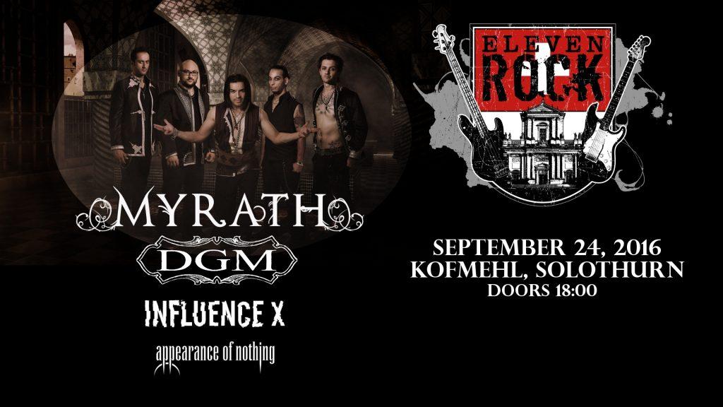 Eleven Rock Prog & Metal Night