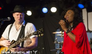 Johnny Fontane & The Rivals feat. Justina lee Brown @ blueMonday 26