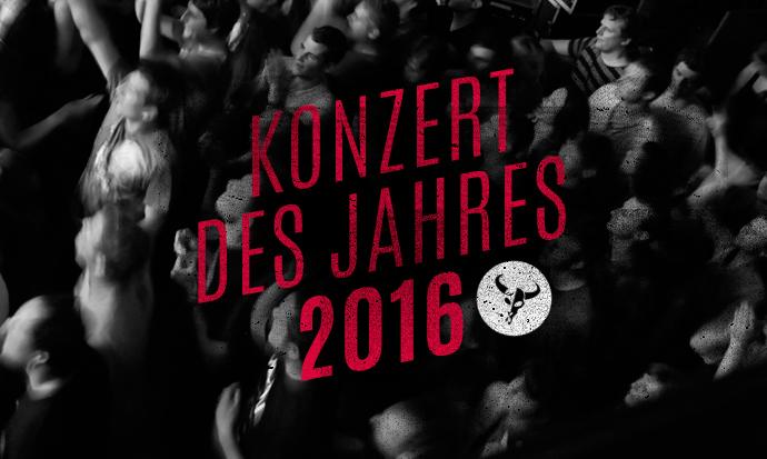 Konzert des Jahres 2016