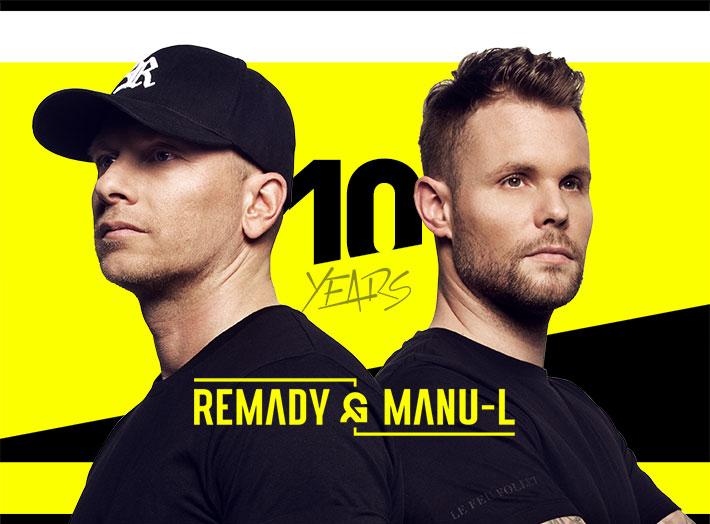 Frisch bestätigt: Remady & Manu-L