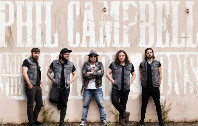 Frisch bestätigt: Phil Campbell and the Bastard Sons
