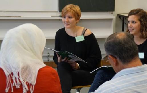 Spendenaktion für Deutschkurse für Geflüchtete