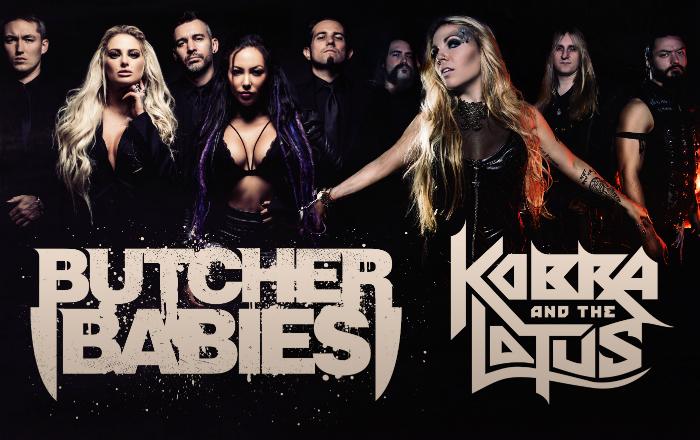 Frisch bestätigt: Butcher Babies & Kobra and the Lotus